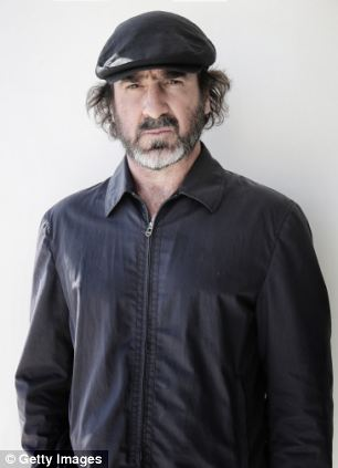 Cantona has made a living as a model and actor since retiring from professional football in 1997