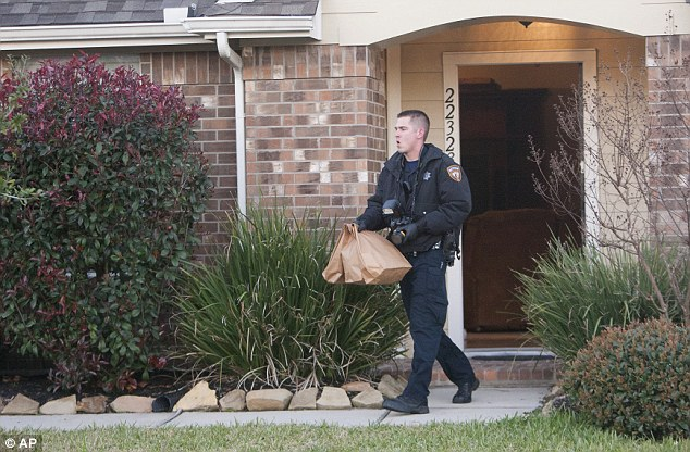 Police showed up at the house shortly after 2:30am when they received a 911 call from one of the father's other daughters