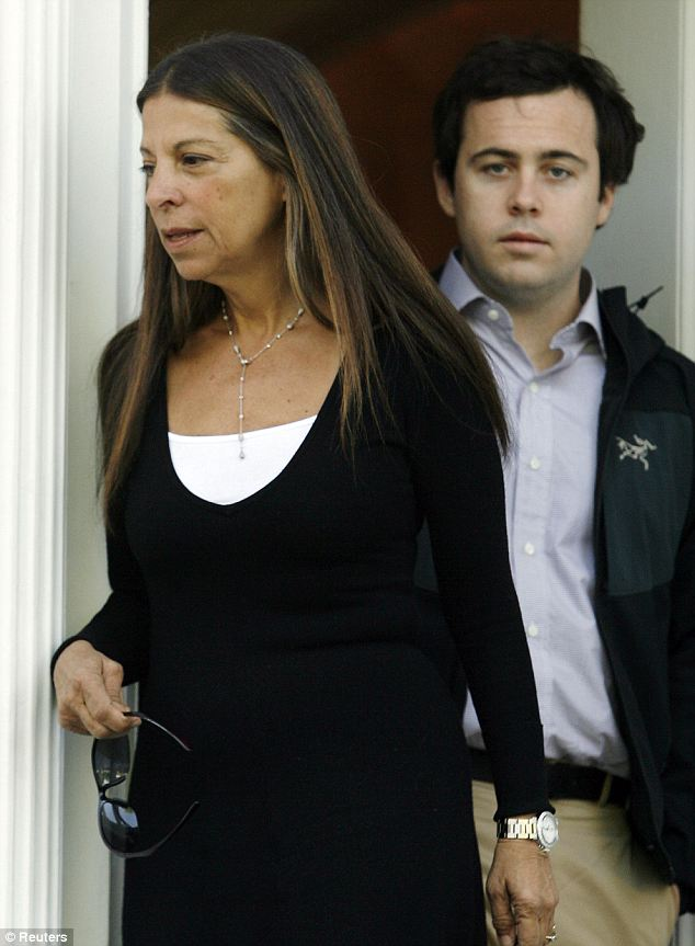 Pairings: Jeff, seen here with his stepmother Sharon Elghanayan in 2007, worked as a drug counselor in California at the time of his death and it is believed that he may have been trying to launch a photography career