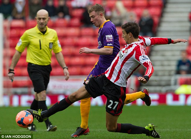 Home advantage: Sunderland progressed to the FA Cup sixth round with three wins at Stadium of Light