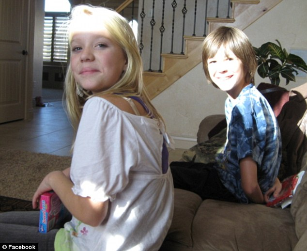 Too young: Kenadee and Isabella were found dead from gunshot wounds to the chest in a bedroom