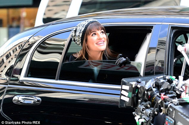 Big city, big dreams: The star leaned out of her town car to see the sights