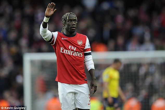 Goodbye? Bacary Sagna has rejected Arsenal's latest contract offer and is holding out for £90,000-a-week