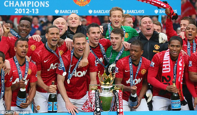 Long time ago: United's Premier League triumph last season is a world away from their form this campaign