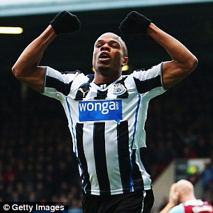 On the move again: Loic Remy is attracting interest from Spurs