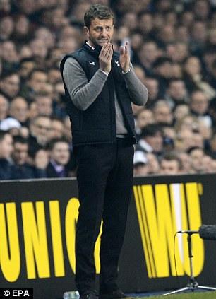 Tottenham's manager Tim Sherwood