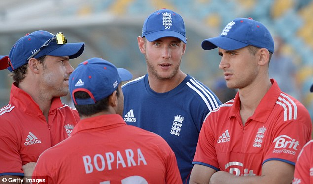Warning: Stuart Broad emphasised the physical risks of non-stop cricket commitments before the World T20