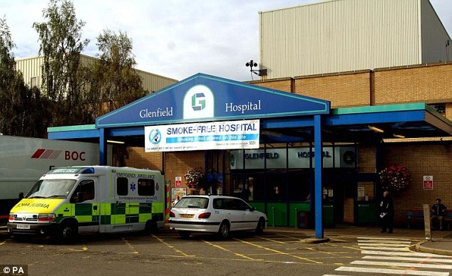 Mr Bagnall said that he had been overwhelmed by the support that his family had received. He paid tribute to the care that his partner Jane Garner received at Glenfield Hospital in Leicestershire (pictured)