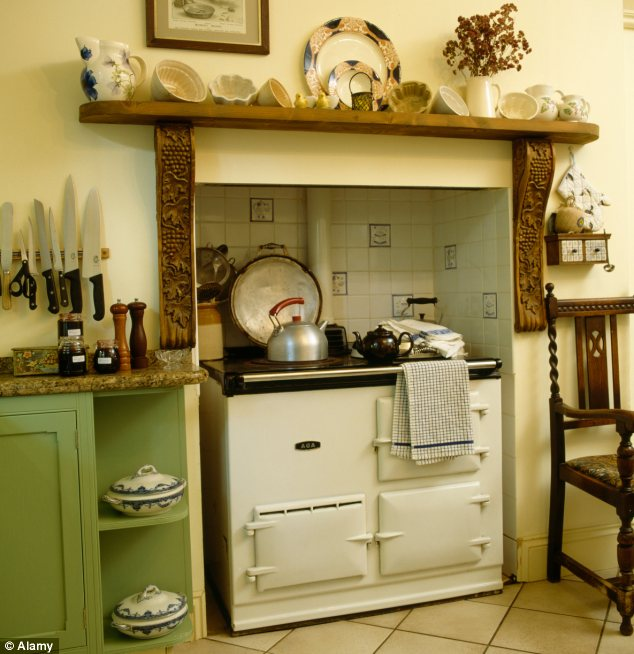 The Aga has been a cornerstone of rural living for decades but the traditional design is now getting a city twist
