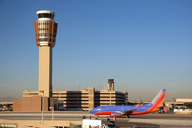 Security alert: A bomb expert was called to the Sky Harbor International Airport in Arizona