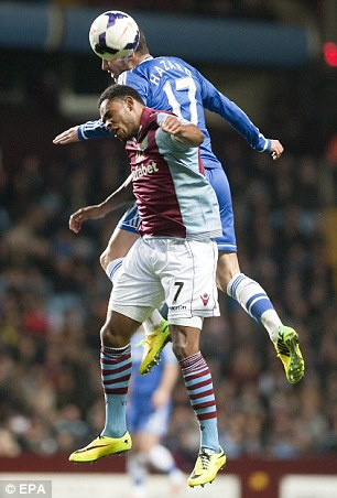Heads up: Leandro Bacuna challenges Eden Hazard for the ball