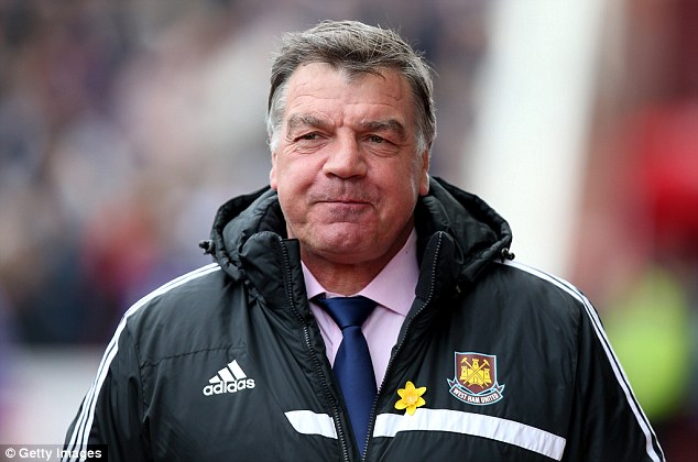 Looking forward: West Ham boss Sam Allardyce has shown an interest in new technology over the years