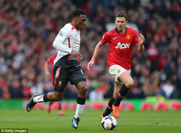 Under the microscope: Genetic company DNAFit are able to reveal the balance of speed and endurance genes in Premier League stars like Daniel Sturridge (left)