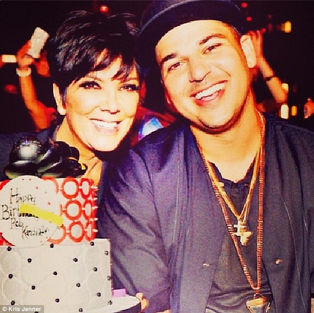 'I am so proud of you!' Kris Jenner made it clear that she was happy with her son's life progress as she too wished Rob a happy birthday