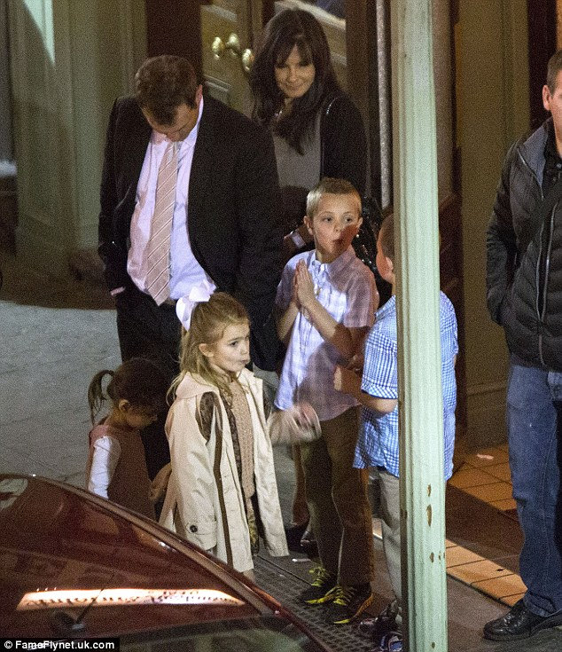 Cousins! Britney's sons Sean and Jayden mingled with Jamie Lynn's daughter Maddie outside the rehearsal dinner
