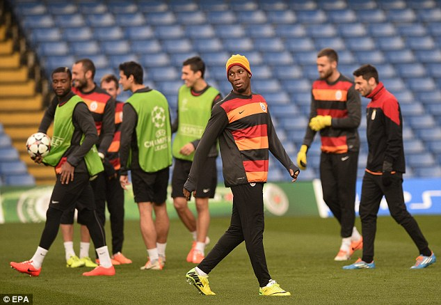 Returning hero: Didier Drogba will be back at Stamford Bridge and is certain to get a warm reception