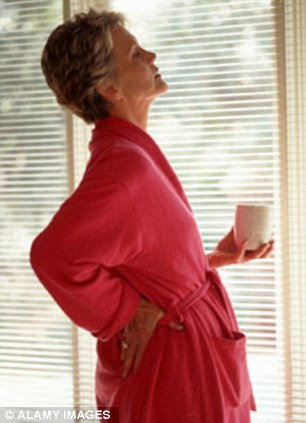 Muscle pain is the most frequently reported statin side-effect (file picture)