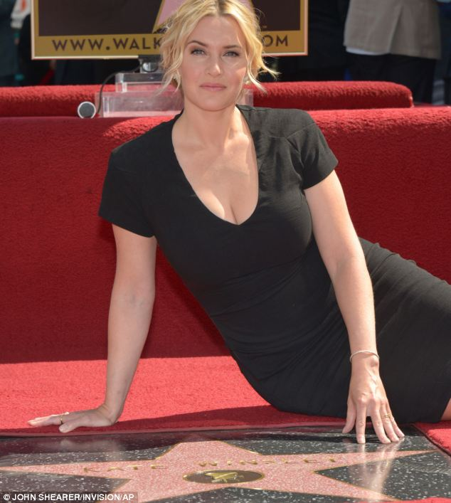 Star on the Walk of Fame: Kate Winslet