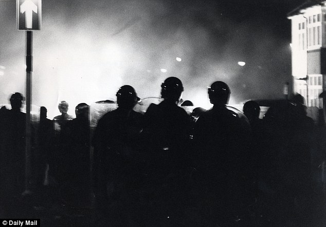 Flashback: The riots occurred around the Broadwater Farm area of Tottenham, on October 6, 1985