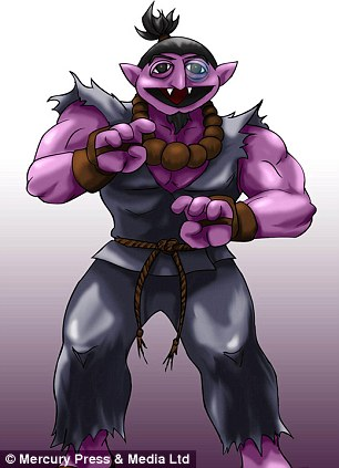 Akuma means evil incarnate in Japanese. Count becomes Acountma after being morphed with the Street Fighter