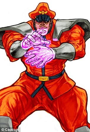 This is Street Fighter M.Bison