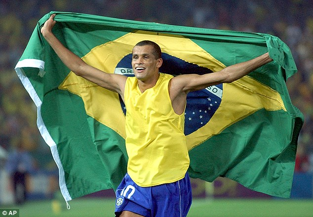 Calling it quits: Brazilian legend Rivaldo announced his retirement from football this week at the age of 41