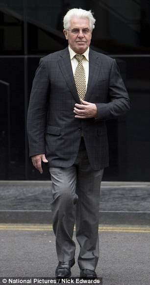 Jurors at the trial of PR Max Clifford, 70, were sent out by the judge today after they started giggling during a discussion about the size of his penis