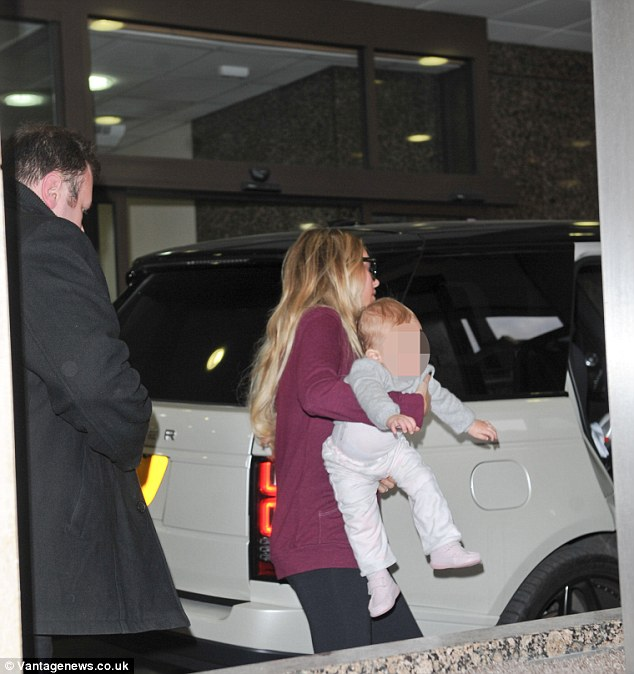 Sisterly support: Petra Ecclestone brought baby Lavinia to meet her new niece