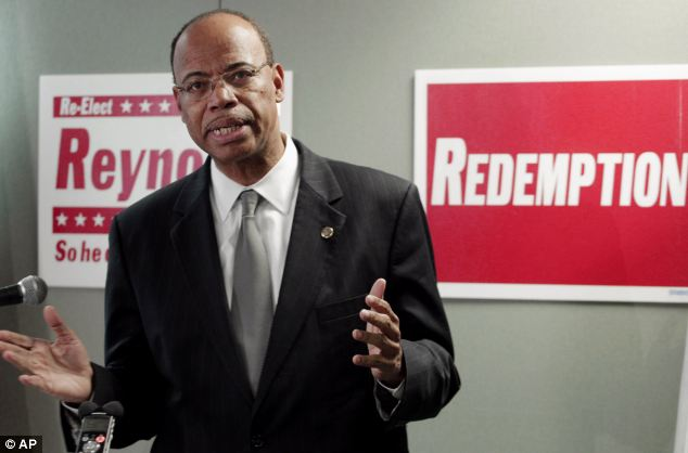 Mel Reynolds, a former congressman who went to prison for having sex with a 16-year-old campaign volunteer, ran for the jailed Jesse Jackson Jr.'s old U.S. House seat in 2012 on a campaign theme of 'redemption,' but was beaten handily