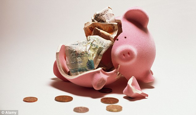 Poor returns: Rates on offer on new easy-access cash Isas are so low, you can earn more in an old account that's closed to new savers