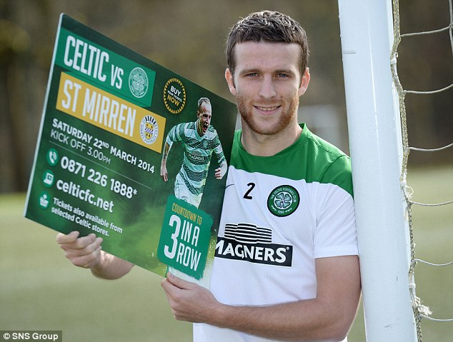 Matthews looks ahead to Celtic's Scottish Premiership match with St Mirren
