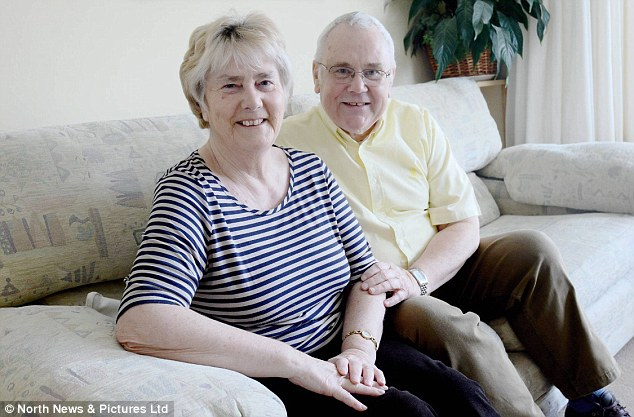 Nightmare: Carol and Ray Nesbitt fought to recover their son's money