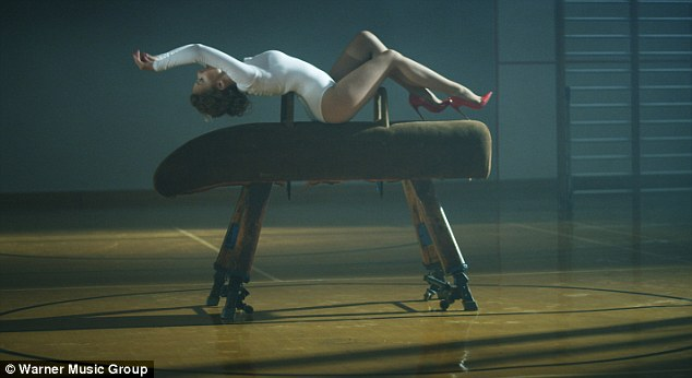 Sexercize! Kylie shows us how to work out and look amazing doing it in her new video clip