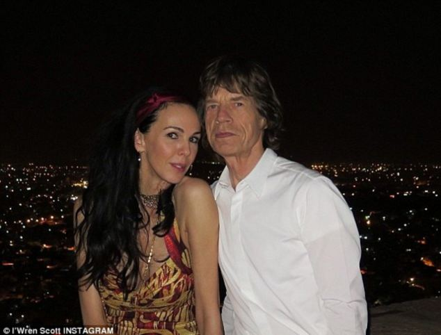 L'Wren Scott who dated Mick Jagger for 13 years and was on first name terms with the rich and famous