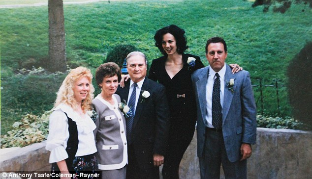 The family of L'Wren Scott pictured together at her parent's 50th wedding anniversary in 1992