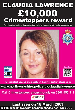 Anniversary: There is a £10,000 reward for information which leads to a conviction