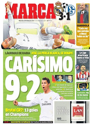 Cries of rage: Marca