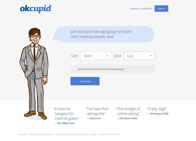 OkCupid bills itself as 'the best free dating site on Earth' and so Michael Picciano was not wary when he received a message from 'genuineguy62'