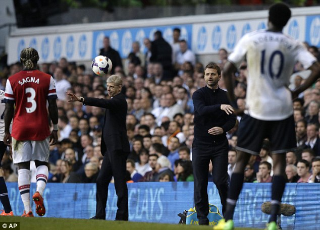Season over? Spurs is his most likely destination after a poor run of results under Sherwood