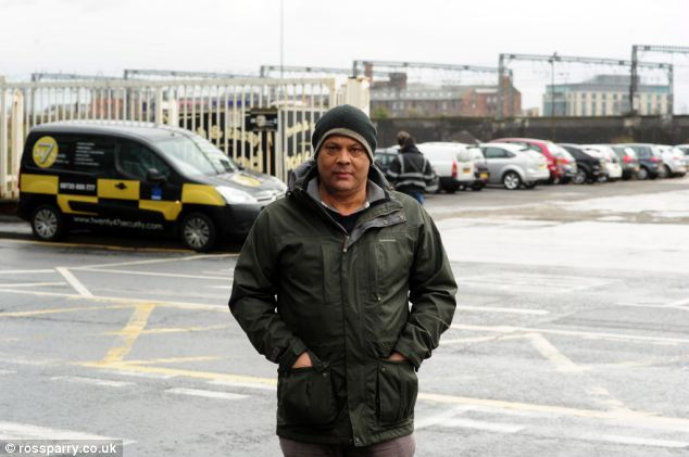Packed: Former car park attendant Joe Harding said the site would have quickly filled up if the 'attendants' had continued with their scam