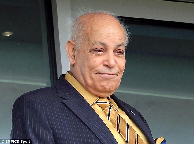 Grimace: Allam has warned fans that a name change poll will determine whether he sells the club or not