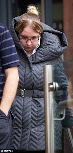 Katy Gammon leaves Bristol Magistrates Court