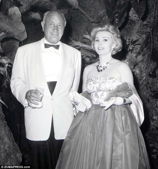 Age difference: Conrad Hilton was 55 and Zsa Zsa Gabor was 25 when they married in 1942 (undated photo)
