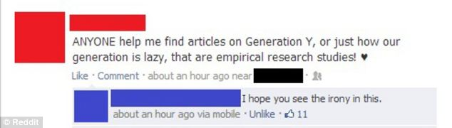 The cyber generation succinctly summed up in a status: Even Wikipedia was a stretch for this user
