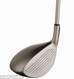 A University of California at Irvine study shows that titanium-coated golf clubs can cause fires in course-side vegetation