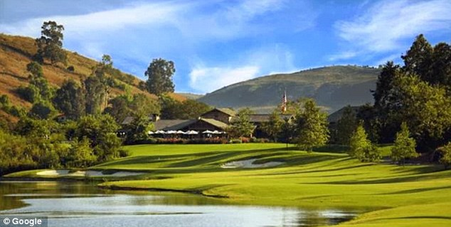 One blaze burned 25 acres at Irvine's Shady Canyon in 2010. A second fire, sparked at Arroyo Trabuco Golf Club in Mission Viejo, burned close to homes (pictured)