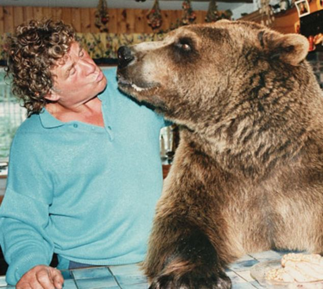 A documentary on Ch5, Hercules The Human Bear, charts the bear's incredible life, showing unbelievable footage of the bear opening doors to have breakfast with his 'family,' Andy and Maggie Robin