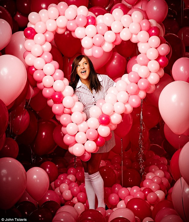 Ja'mie King: Chris Lilley as his famous character in a shot by John Tsiavis for the National Portrait Gallery exhibition