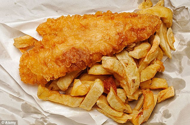Distinctive: In third place on the favourite smells list released by AirWick air fresheners was fish and chips