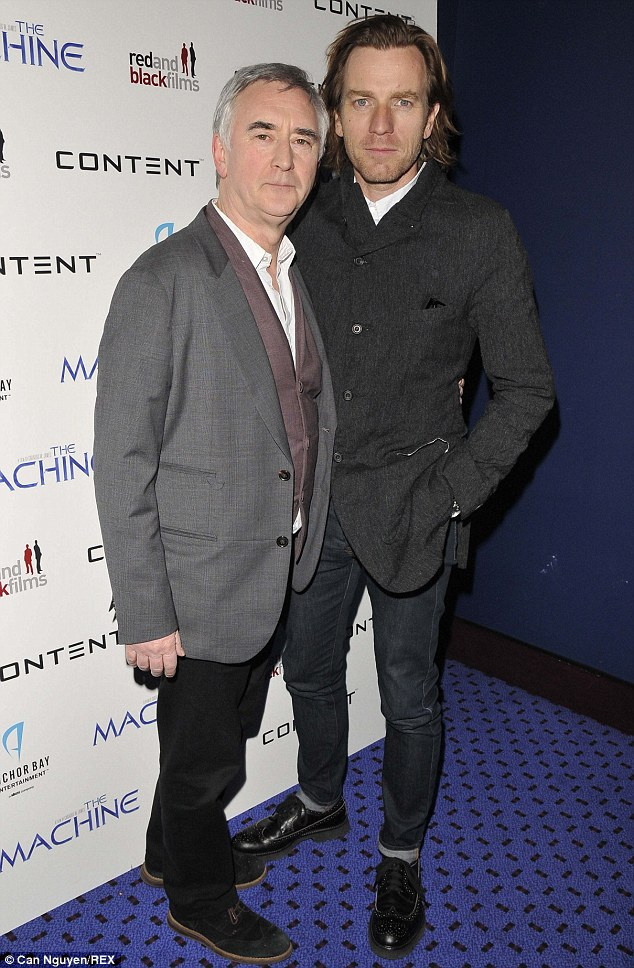 Denis Lawson and nephew, Ewan McGregor, who came along to support his uncle's new movie The Machine